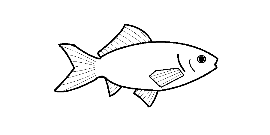 goldfish coloring pages Goldfish Coloring Page goldfish coloring pages